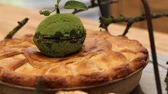 Apple pie med galangarod