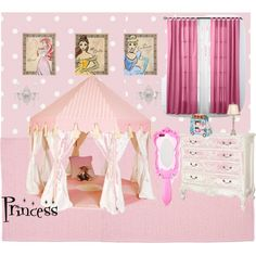 Princess room by vonda-brooks on Polyvore featuring interior, interiors, interior design, home, home decor, interior decorating, Colonial Mills, Beacon Looms and Moschino