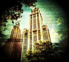 Woolworth Building NYC.  Sept 2012