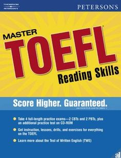 eBook: Peterson's Master TOEFL Reading & Writing Skills [Pdf]