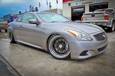 Infiniti G37 Coupe ISS Forged F10 by Autoglitz, via Flickr