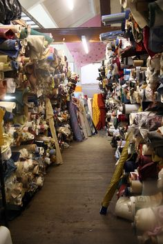 Immanuel Fabrics,Burnley.  You'll never leave empty handed.