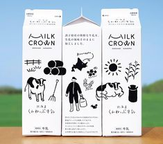 Design your own custom tissue packaging paper with logos - noissue Milk Packaging, Food Packaging Design, Beverage Packaging, Pretty Packaging, Packaging Design Inspiration, Brand Packaging, Graphic Design Inspiration, Bottle Packaging, Product Packaging Design