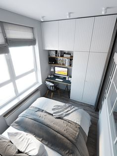Room Divider Doors, Couple Room, Small Condo, My First Apartment, Small Room Design, Aesthetic Room Decor, Room Inspiration, Decoration, Sweet Home