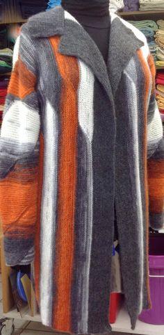 Patchwork stricken und mehr : Eine neue Kuscheljacke