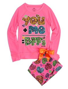 Bff Capri Pajama Set | Girls Pajamas & Robes Clothes | Shop Justice