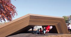 Academie Lafayette Playground, KEM Studio and Zahner, Kansas City, 2013 - Playscapes
