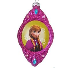 Disney Frozen Anna Blown Glass Christmas Ornament 2 Sided Frozen http://www.amazon.com/dp/B00ODJ9UL4/ref=cm_sw_r_pi_dp_OWc.vb13G88GM