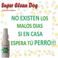 Con #SuperCleanDog NO SOLO ELIMINAS el Mal Olor...También Armonizas tu HOGAR!!!