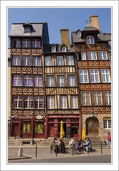 Rue du Champ Jacquet - Rennes, Bretagne
