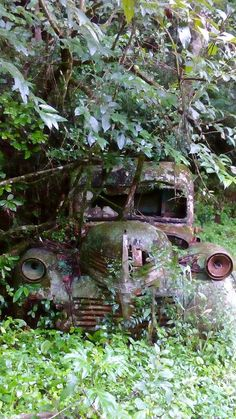Abandoned Cars, Travel