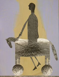 Hard Ride I, 2008, by Holly Roberts