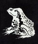 伊藤若冲の蛙