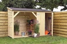 15 mm wooden shelter 320 x 110 cm shed tool shed wood wooden house New - Backyard Decoration Garden Tool Storage, Shed Storage, Backyard Sheds, Backyard Landscaping, Firewood Shed, Yard Tools, Large Sheds, Wood Store, Potting Sheds