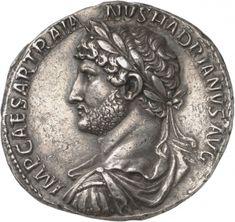 7 Denari - argento - Roma (119-128 d.C.) - IMP CAESAR TRAIA-NVS HADRIANVS AVG busto di Adriano con corazza e corona di alloro vs.sn. - Münzkabinett Berlin
