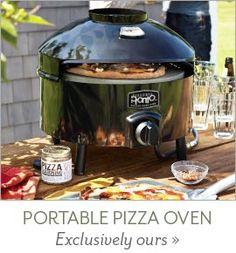 Sur La Table: Pizzeria Pronto Outdoor Pizza Oven