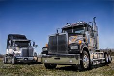 Western Star Trucks announced the availability of a special edition anniversary graphics package. Western Star is continuing to pay Western Star Trucks, New Trucks, Cool Trucks, White Truck, Cab Over, Truck Art, Peterbilt, Heavy Equipment, 50th Anniversary