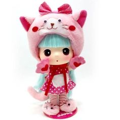 """Pink Cat DDUNG"" doll 2    (better price)"
