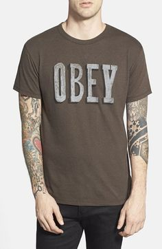 Obey  Sign It  Graphic T-Shirt  2bd894184
