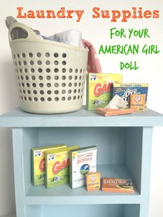 American Girl Laundry Printables