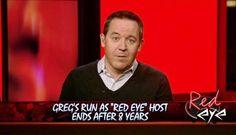 Greg Gutfeld's goodbye moment at 'Red Eye' had a 'big' surprise