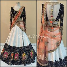 Mughal Era, lehenga by MischB Couture