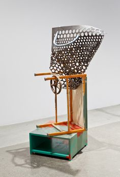 found object sculptures/assemblages - georgia dickey [link to series of artworks + georgia dickey's website + galleries]