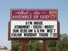 funny church signs | Funny Church Signs | Flickr - Photo Sharing!
