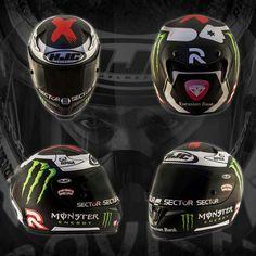 JL helmet motogp 2015 season
