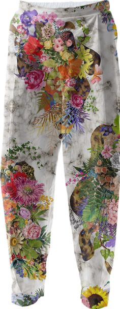 RELAXED PANT - FLORAL by solestruck
