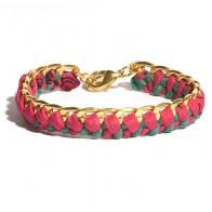 Vintage Sari Bracelet. LOVE. Also, with every purchase a tress is planted through Trees for the Future