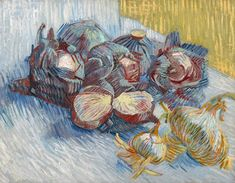 Vincent van Gogh – Red Cabbages and Onions, 1887