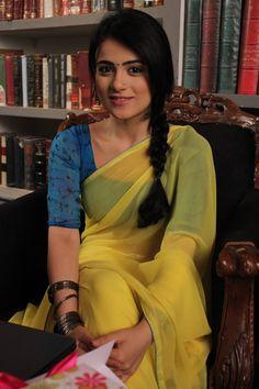 Beautiful Girl In India, Beautiful Girl Image, Beautiful Saree, Beautiful Women, Beautiful Bollywood Actress, Beautiful Indian Actress, Radhika Madan, Saree Photoshoot, Bikini Pictures