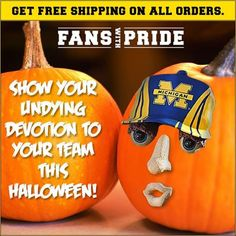 """Save on your 'Fan Cave' with FREE Shipping on all orders from Fans With Pride!  Click here to earn 8% Cashback during the Halloween Extra Cashback Event:  Search """"Fans With Pride"""" on http://www.allinmycart.com"""