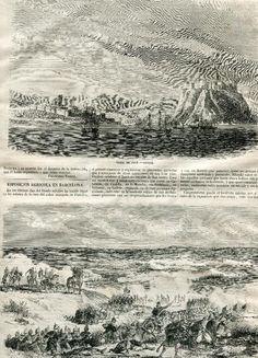 REVISTA AÑO 1859 GUERRA DE AFRICA 25 DE NOVIEMBRE BATALLA DEL SERRALLO SALE MARQUES DE LA SANTA CRUZ