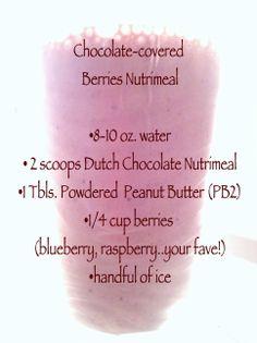 Chocolate-covered Berries - yum! naominates.usana.com
