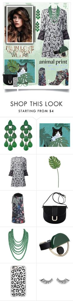 """""""Animal Print"""" by beleev ❤ liked on Polyvore featuring Siman Tu, 10 Crosby Derek Lam, Sam Edelman, A.P.C., Humble Chic, Marni, Casetify, Dolce&Gabbana and animalprint"""
