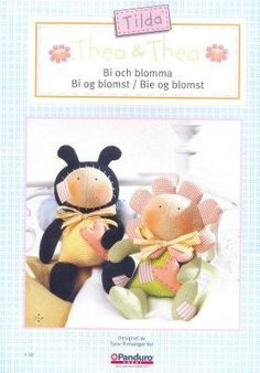 Tilda's Bumble-Bee and Flower - pattern