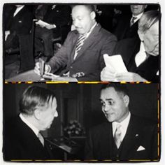 December 10, 1950 (Ralph Bunche) & Dr Martin Luther King (1964) received the Nobel Peace Prize (Mr Bunche was the 1st African American to receive the award)!!