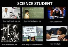 College BioChemistry Major: Science student