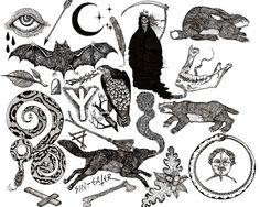 Sin Eater Illustration http://sin-eater.tumblr.com/