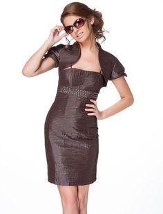 360d145cefc1 Φόρεμα Σίλβια - Κομψό φόρεμα με εντυπωσιακό μοτίβο από μικρές οριζόντιες  πιέτες και λεπτές αφαιρούμενες τιράντες