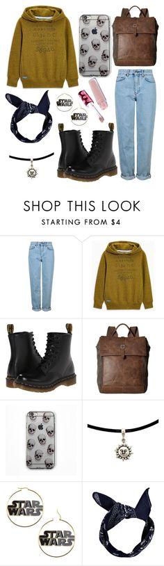 """""""fir my bff hannah  ♡♡♡♡♡♡♡♡"""" by isobelle206 ❤ liked on Polyvore featuring Topshop, Dr. Martens, TOMS, Boohoo and Lime Crime"""