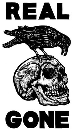 Skull Lino cut would look awesome as a tattoo ♤