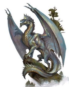 Silver Dragon Art by Tom Babbey.