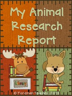 Research Report on Animals -Common Core Aligned -    This product includes everything a student will need to write a research report on an animal. You will only need to print the pages, give the students the resources to find the information, and have students bind the pages into a book. $