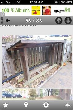 Wood pile DIY