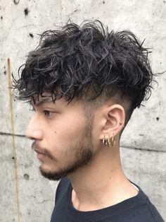 Perm Hair Men, Men Haircut Curly Hair, Male Haircuts Curly, Asian Man Haircut, Wavy Hair Men, Asian Men Hairstyle, Japanese Hairstyle, Curly Hair Cuts, Asian Hair