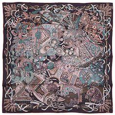 """§§§ foulard scarf carré Hermès neuf """" Au Fil du Carré """" §§§   Vêtements, accessoires, Femmes: accessoires, Autres   eBay!"""