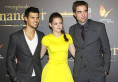 Rob, Kristen And Taylor On The Red Carpet In Madrid